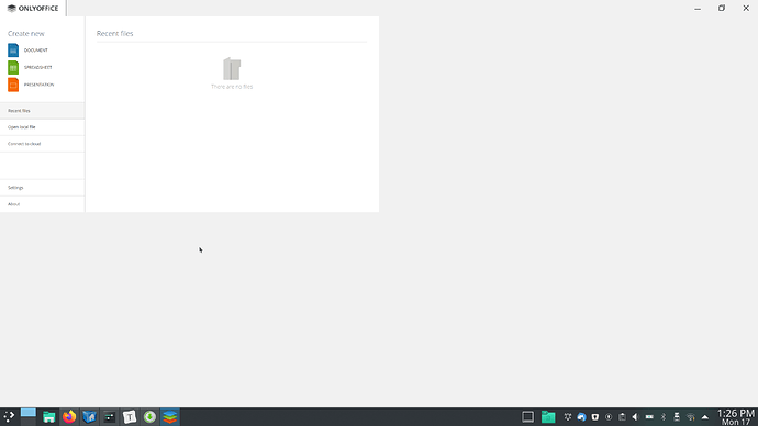 onlyoffice display issue