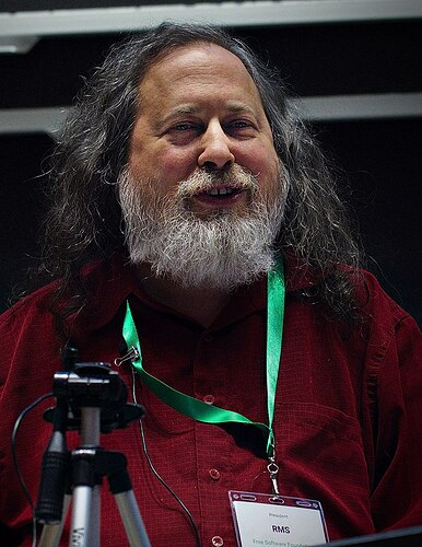 Richard_Stallman_at_LibrePlanet_2019-800px