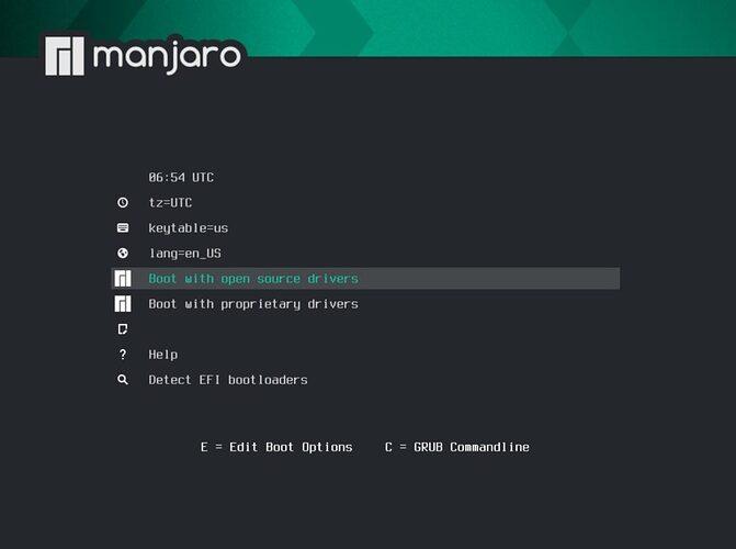manjaro-20.2-installer-boot-menu-1024x762