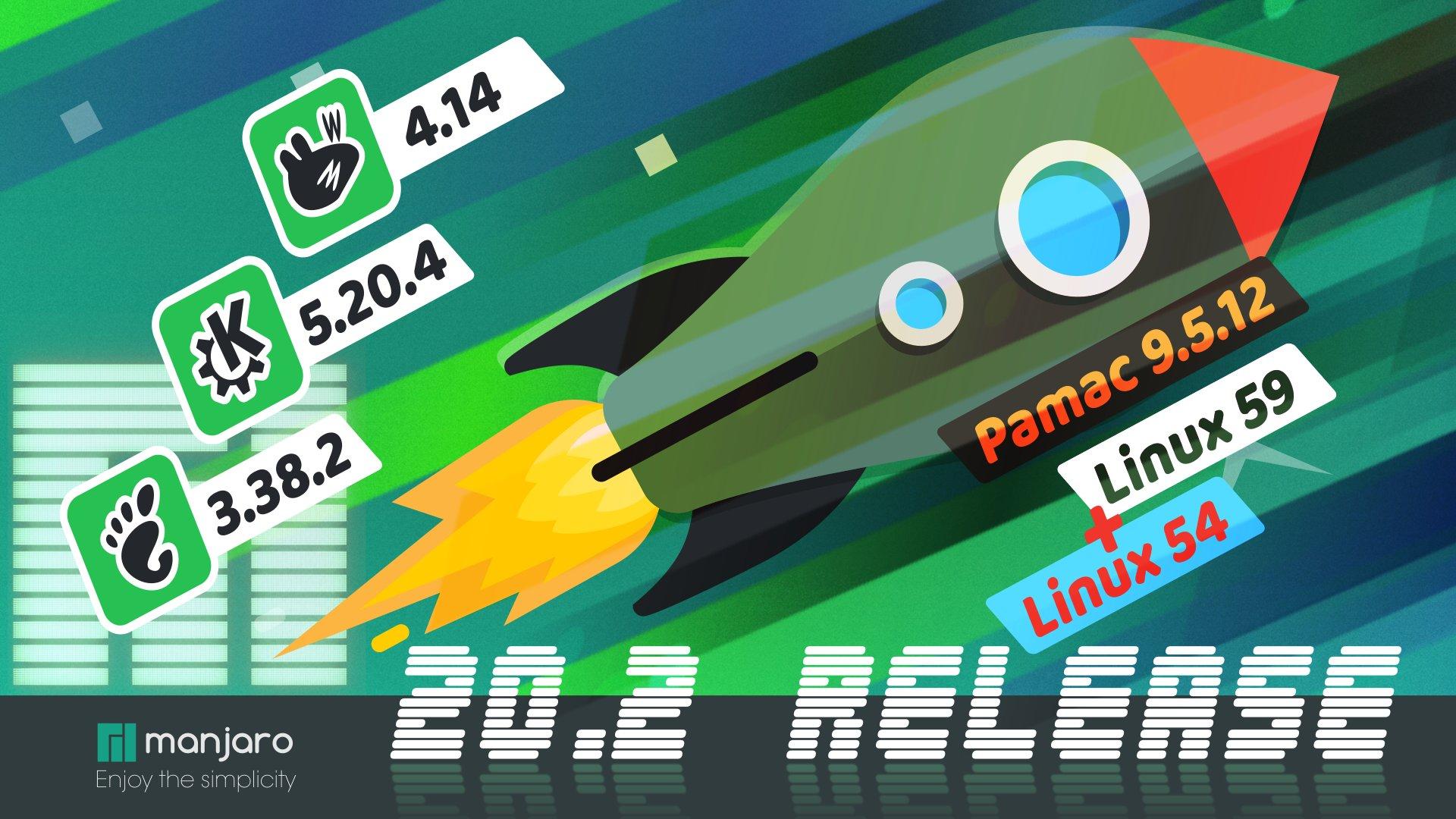 Rilasciato Manjaro 20.2 Nibia: miglioramenti nell'edizione GNOME e nell'installer Calamares