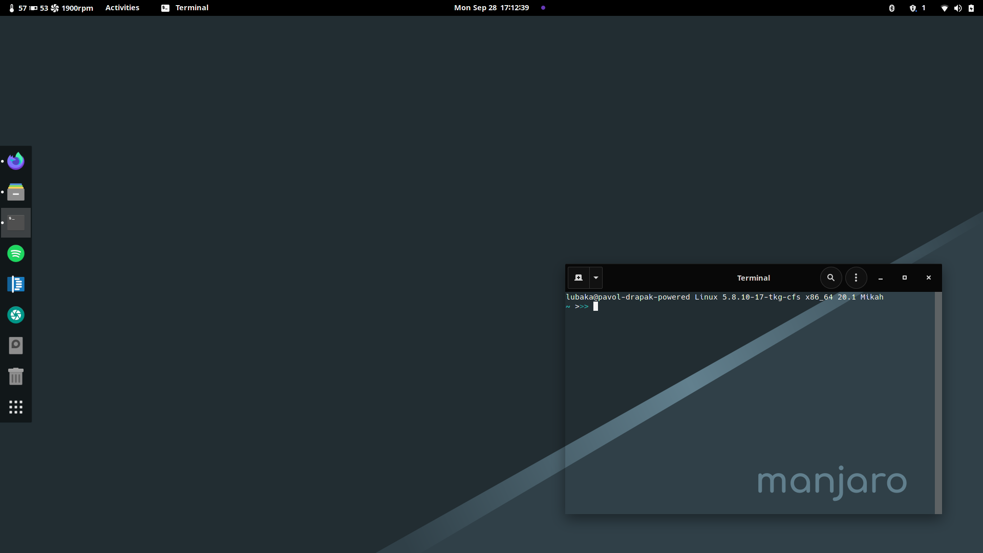 Transparent Terminal Gnome Manjaro Linux Forum