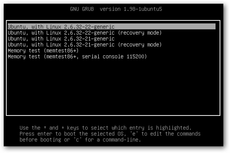 grub-ubuntu