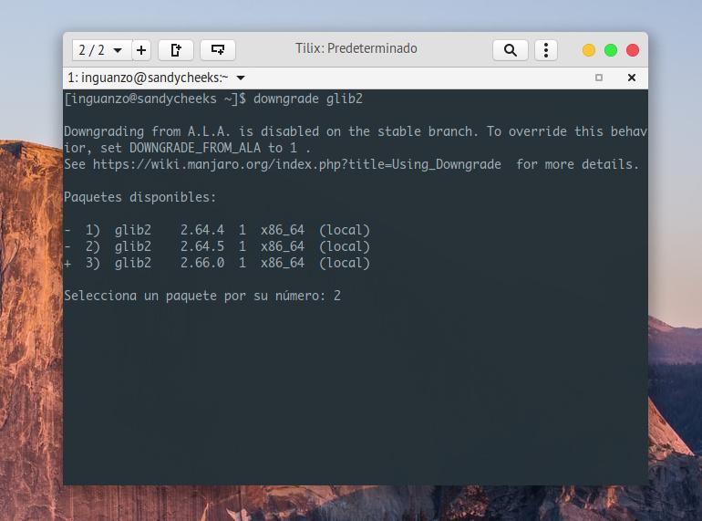 downgrade-glib2